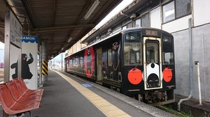 肥薩おれんじ鉄道HSOR-100形『くまモンラッピング列車3号』