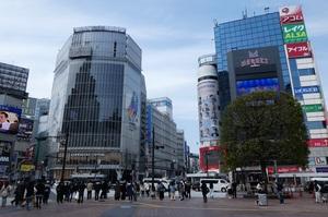 緊急事態宣言前の渋谷